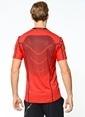 Nike Bisiklet Yaka Tişört Kırmızı